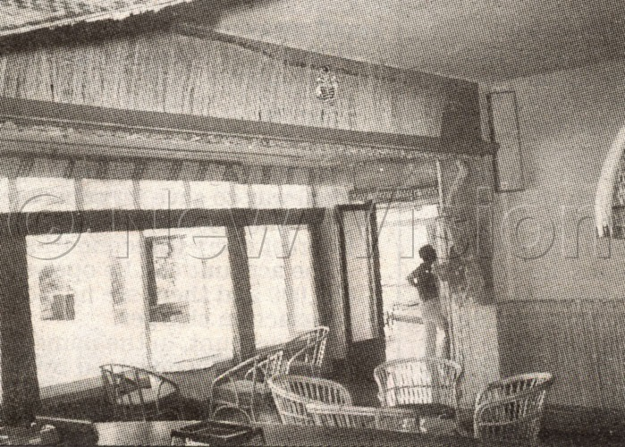 The Interior Of Lake Victoria Hotel In The Late 1960s