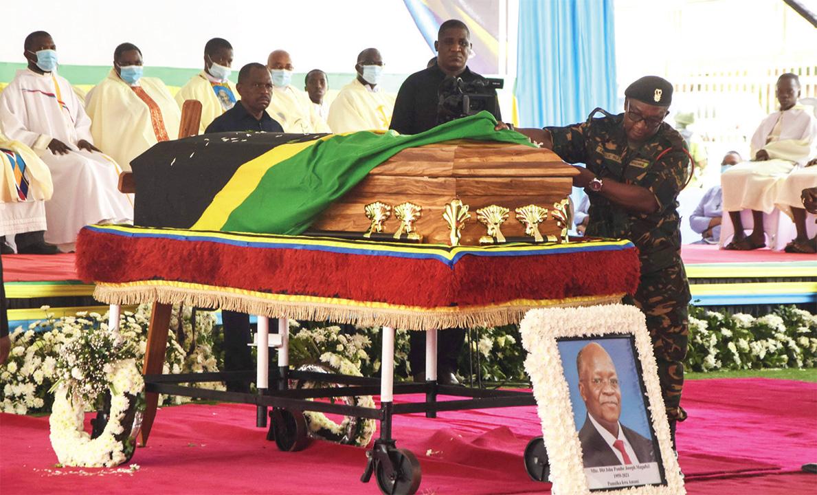 Ssadduuko Y'omulambo Gwa Magufuli.