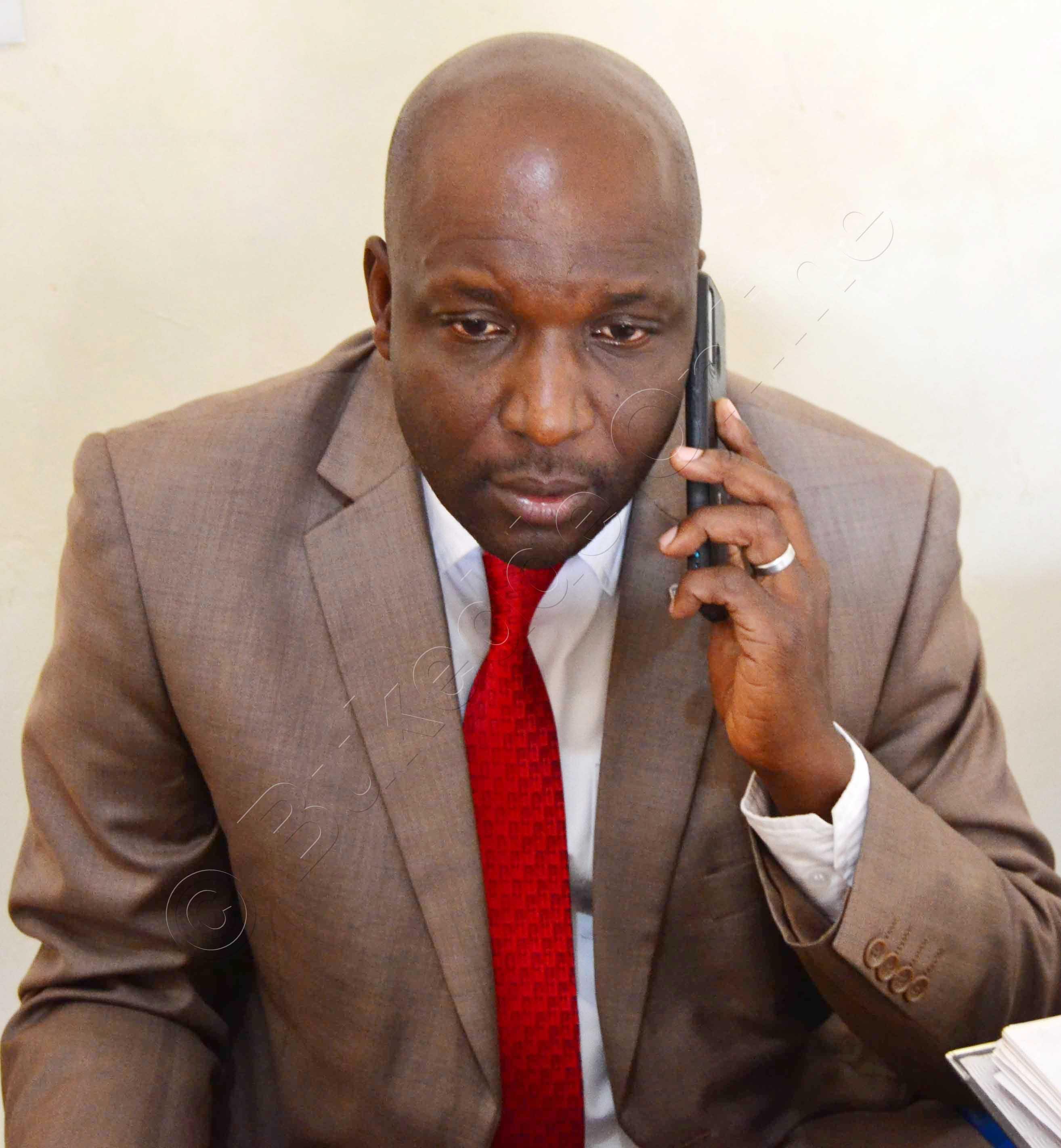 Moses Tusiime Omukubiriza W'abakrisitaayo Mu Kkanisa Ya St. Mark Kakumba Kyanja.