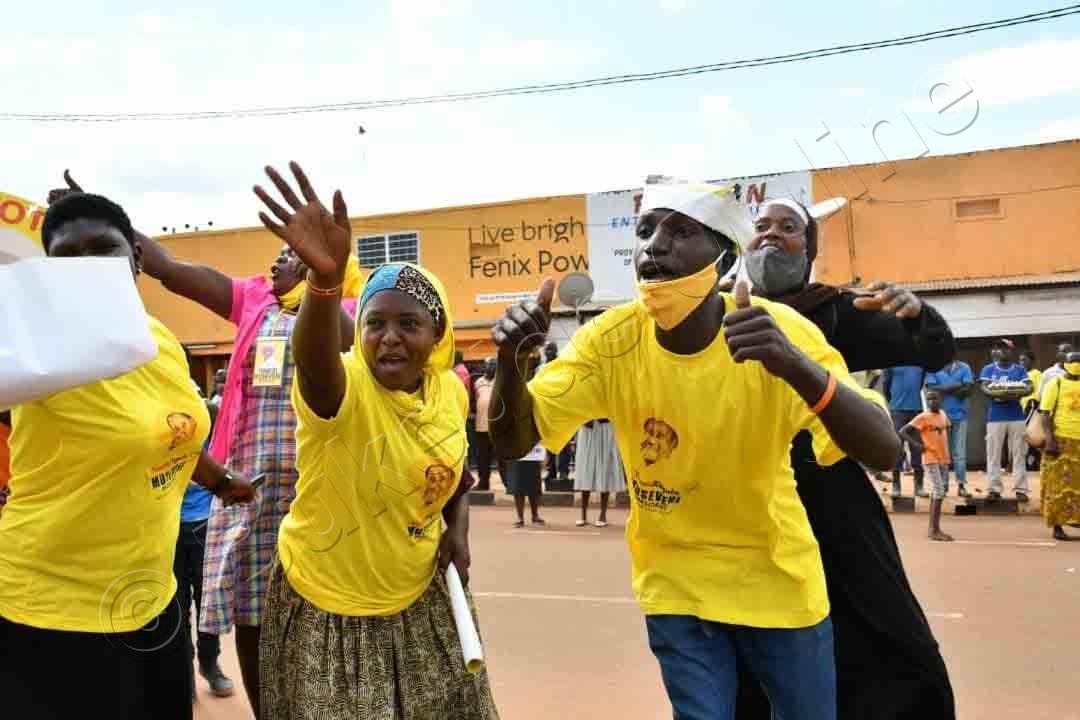 Aba Nrm Nga Basanyukira Pulezidenti Museveni E Tororo Olwaleero.
