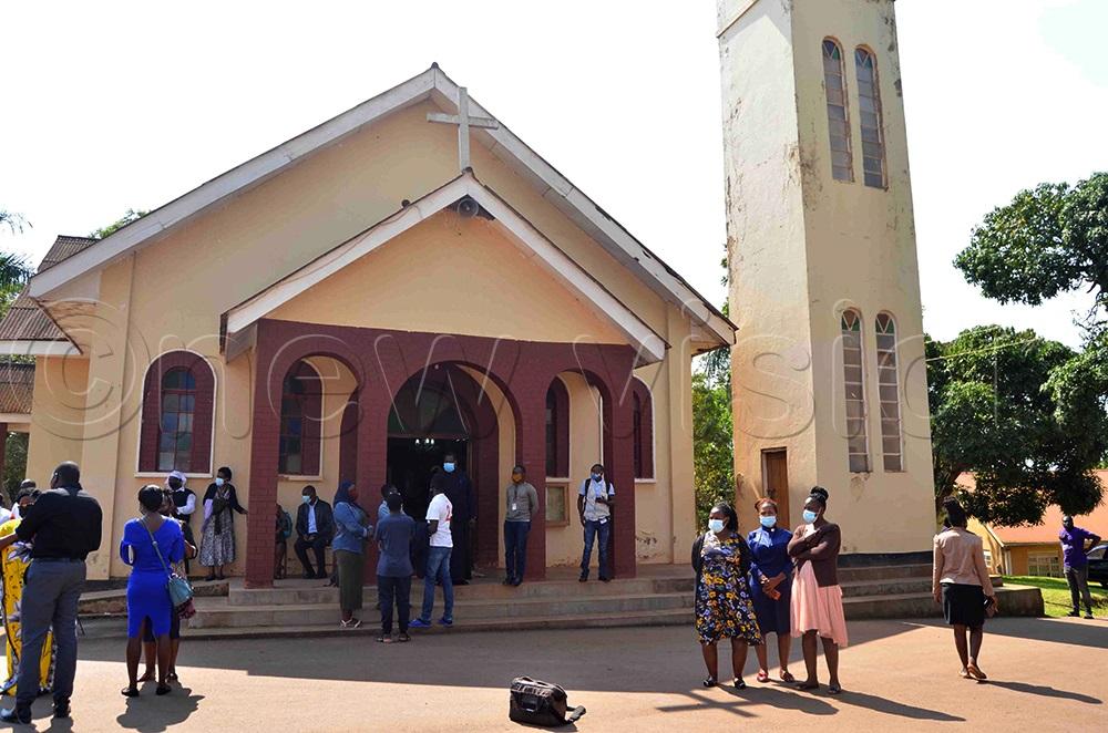 A spectacle of St Nocholas Orthodox Cathedral, Namungoona. (Photo by Mathias Mazinga)