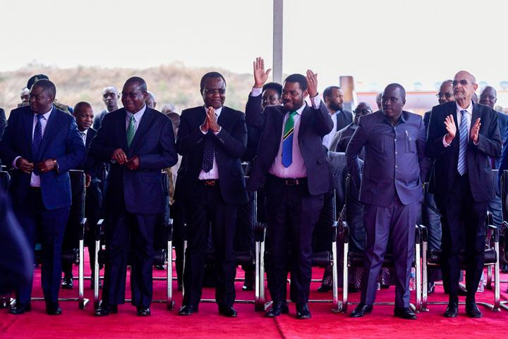 The Tanzania delegation