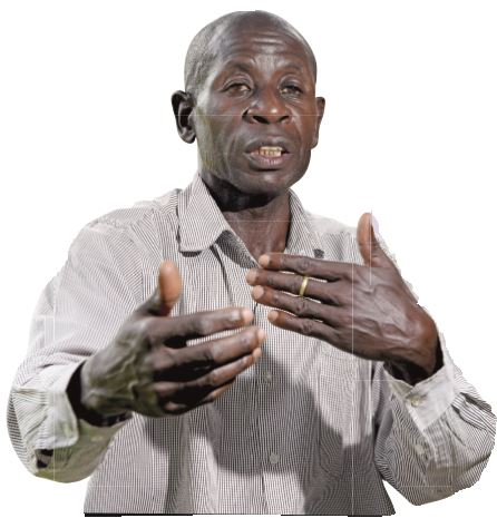The Kwonga clan leader, Steven Nyakooj