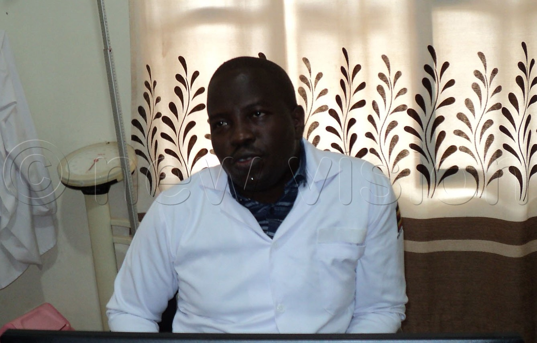 Dr John Etolu advises you to change positions as you are sleeping. Photo by Maureen Nakatudde