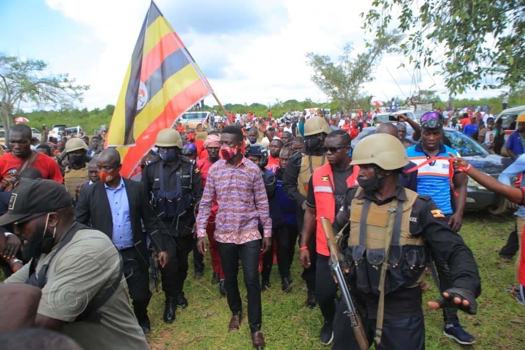 Bobi Wine E Nakasongola