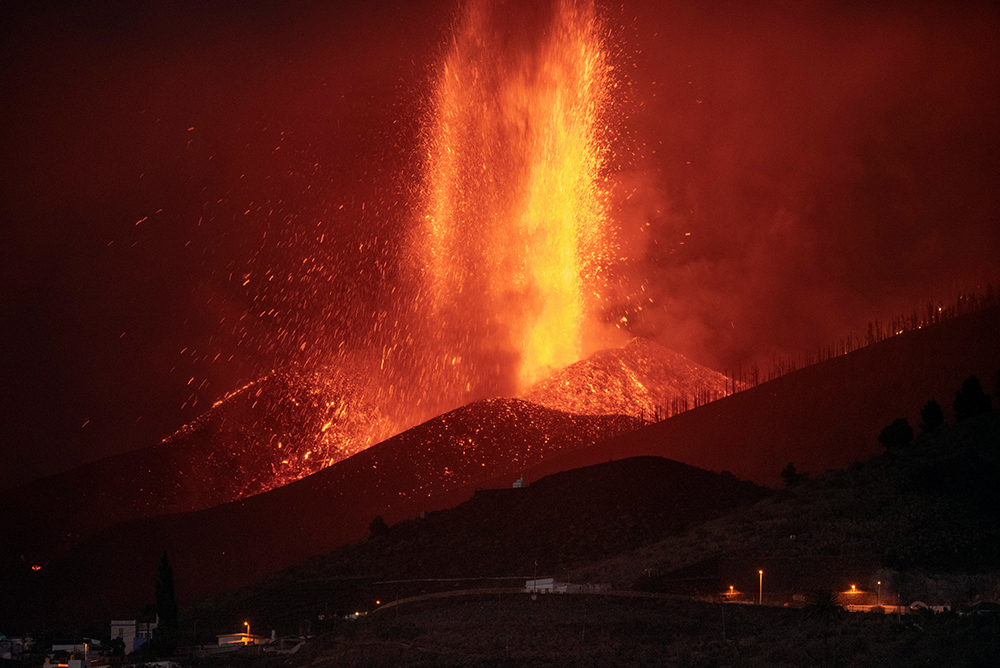 Flights cancelled after new Canary Islands volcanic eruption - New Vision Official