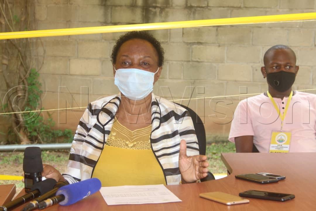 NRM EC commissioner Jane Alisemera. Photos by Jaliat Namuwaya