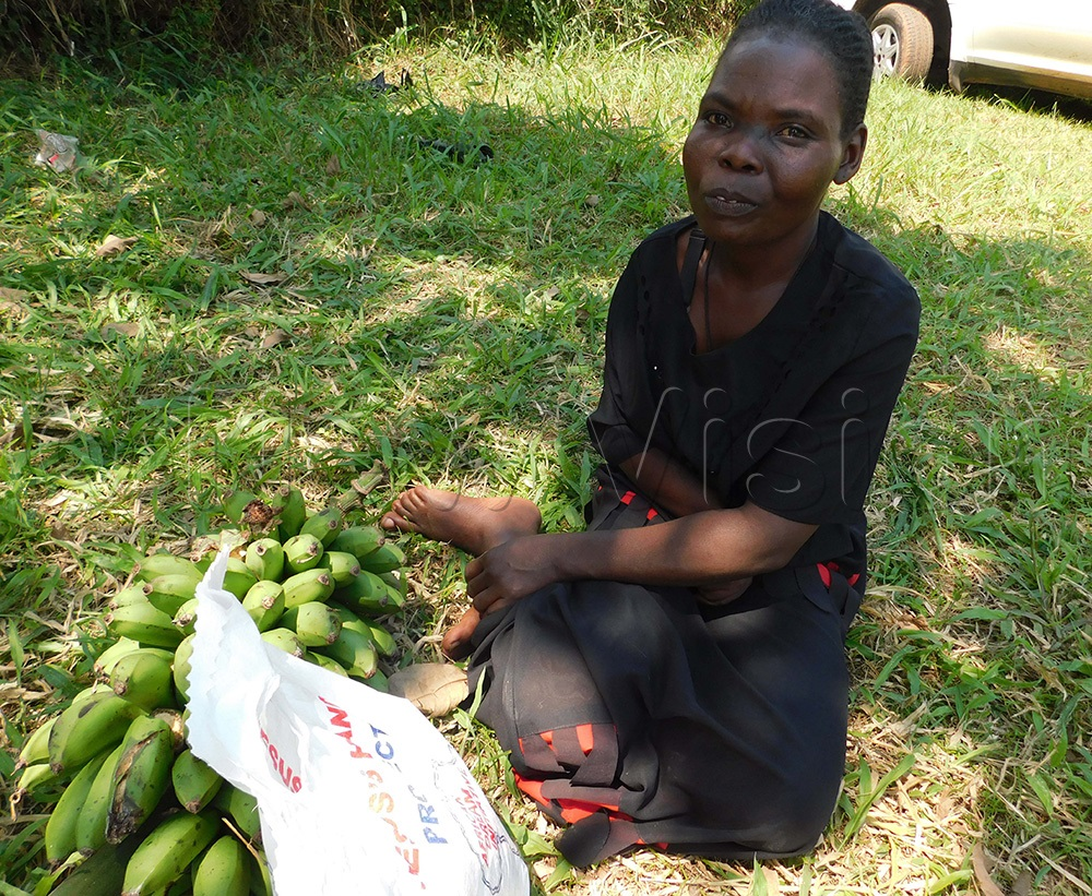 Maureen Nakiganda says that she has not benefitted from the COVID-19 relief funds.