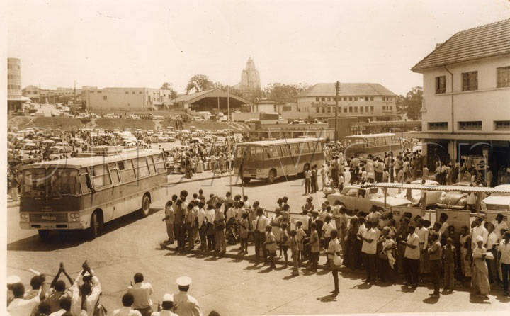 The Second Batch Of Utc New Buses Which Arrived In Kampala. Jan 2, 1974