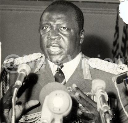 President Idi Amin Dada