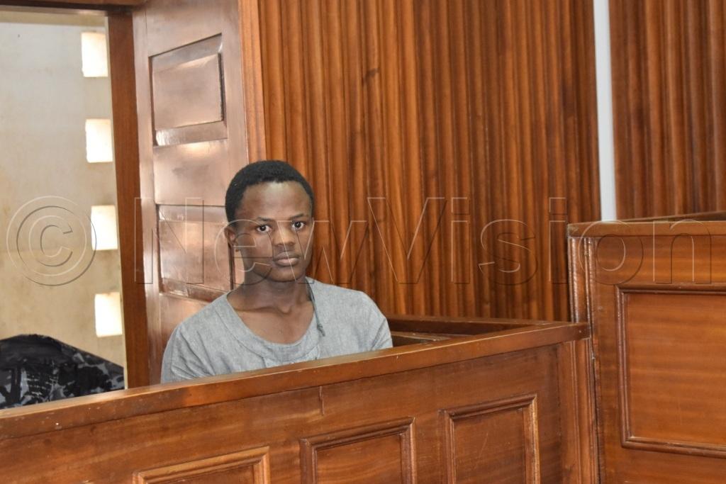 Nuwashaba in the dock at Masaka Magistrates Court. Photos by Davis Buyondo