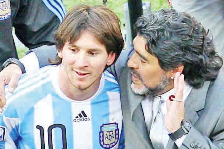 Maradona Ng'awa Messi Ebiragiro Ku Ttiimu Y'eggwanga