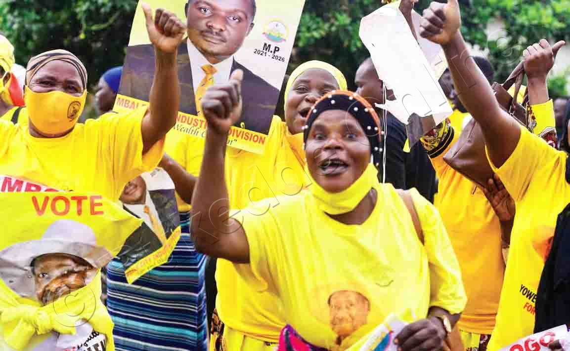 Abawagizi Ba Museveni E Mbale.