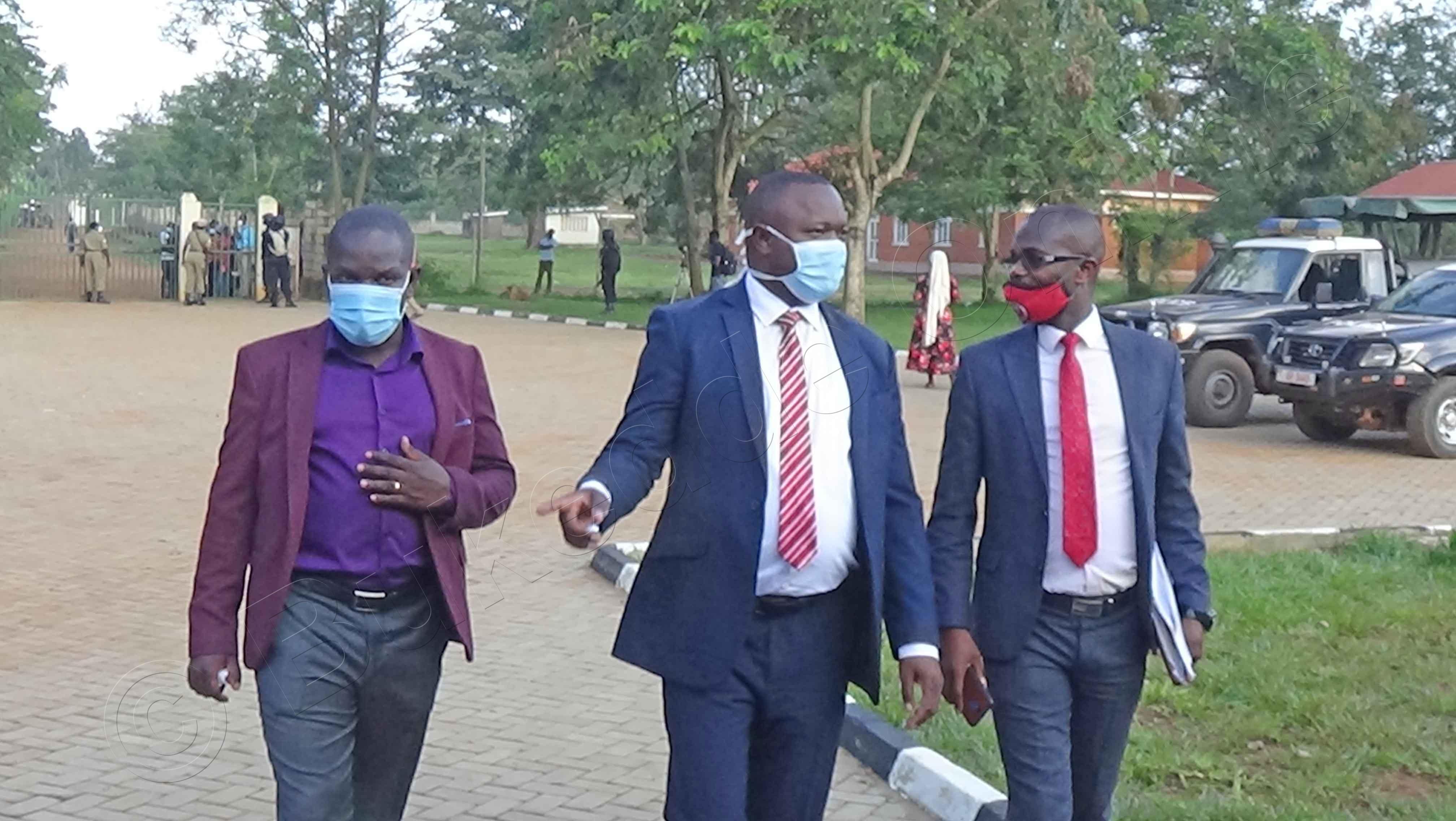 Bannamateeka Ba Kyagualnyi Nga Batuuka, Ku Ddyo Ye Wameli,abade Nasser Mudiobole N'omubaka Paul Mwiru.