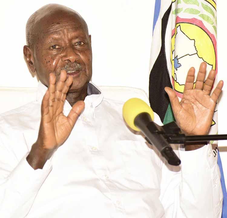 Pulezidenti Museveni