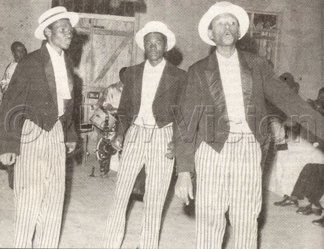 In Concert With Luchanga Show (a Congolese Ballroom Dancer) At Mityana Social Hall 1956