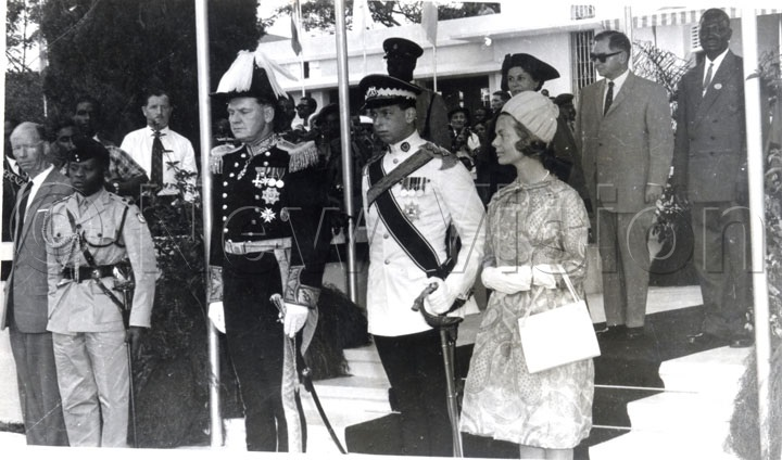 The Duke And Duchess Of Kent At Town Hall During A Reception When City Status Was Conferred Upon Kampala On October 8, 1962