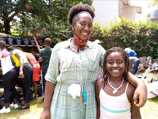 Nyakwezi With Her Sister Whom She Also Trains