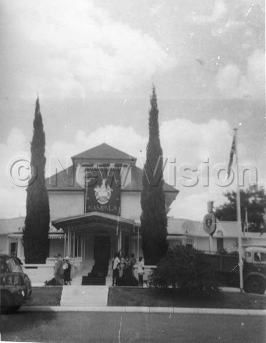 The Newly Unveiled Court Of Arms For Kampala City Displayed Above The Entrance To The Hall On October 8, 1962