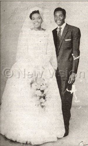 Henry And Ann On Their Wedding Day