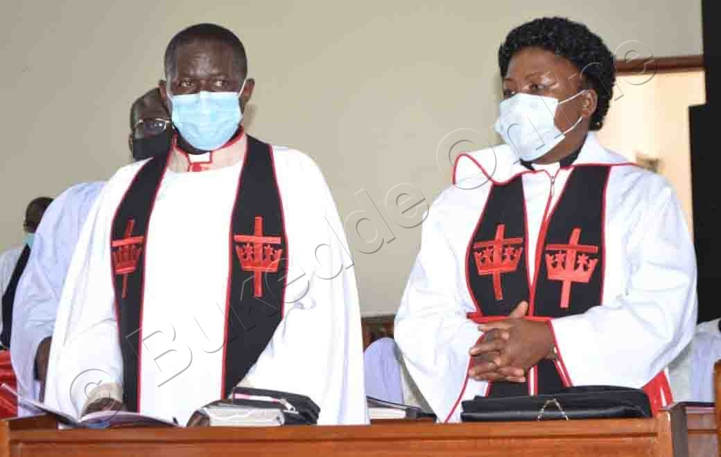 Ven. Canon Moses Banja Ne Mukyala We  Rev.can. Dr.olivia Nassaka Banja.
