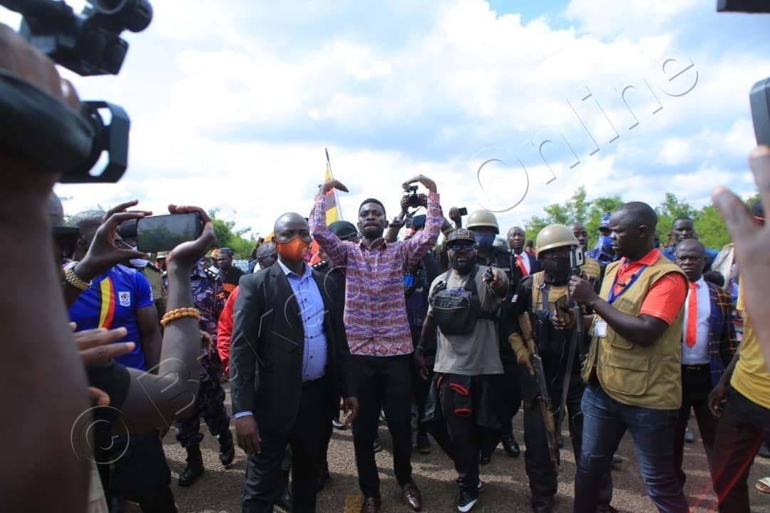 Bobi Wine E Nakasongola.